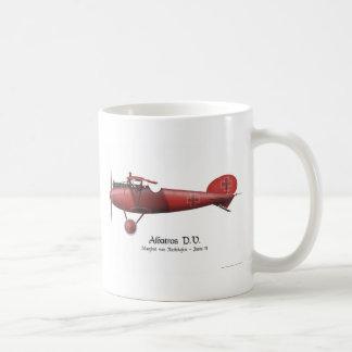 Roter Baron alias Manfred von Richthofen und sein Tasse