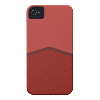 Roter Beschaffenheitspunkt iPhone 4 Cover