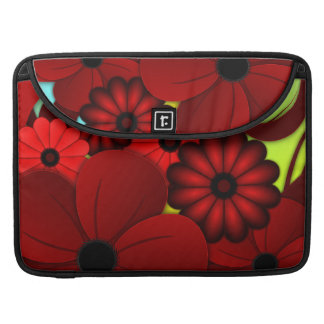 Roter BlumenHibiskus 15 Zoll Macbook Prohülsen Sleeve Für MacBooks
