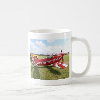 Roter Doppeldecker Kaffeetasse