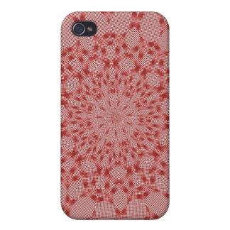 Roter Entwurf iPhone 4 Schutzhüllen