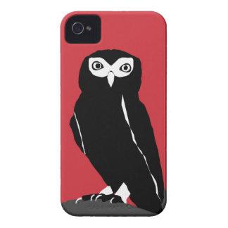 Roter Eule iPhone 4 Kasten iPhone 4 Hüllen