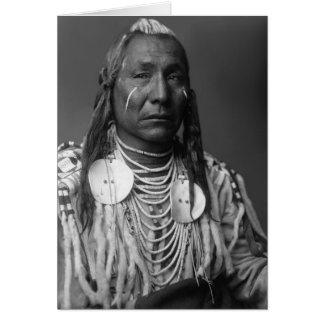 Roter Flügel (Ureinwohner-Mann) Karte