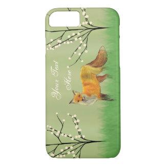 Roter Fox-Baum- des Waldesgrün iPhone 8/7 Hülle