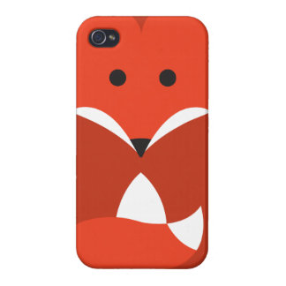 Roter Fox iPhone 4 Fall iPhone 4 Hülle