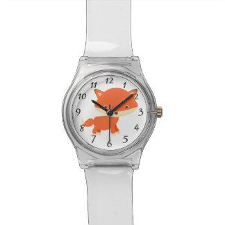 Roter Fuchs Armbanduhr