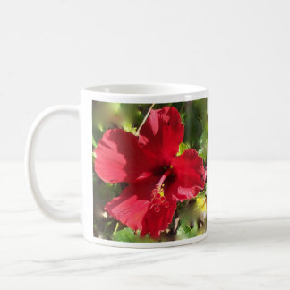 Roter Hibiskus Hawaii Tasse
