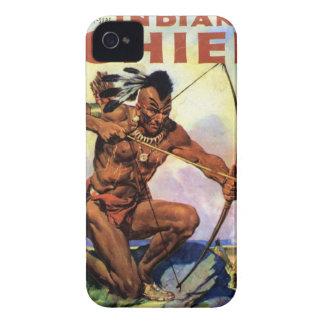 Roter indischer iPhone 4 Kasten iPhone 4 Case-Mate Hüllen