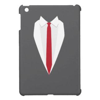 roter Kasten ipad Krawatte des grauen formalen iPad Mini Hülle