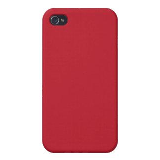 Roter Körper Etui Fürs iPhone 4
