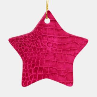 Roter Kroko Kirsche Keramik Ornament