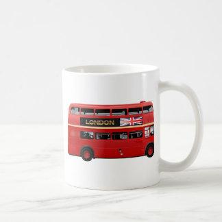 Roter London-Doppeldecker-Bus Tasse