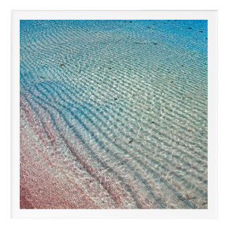 Roter Ozean Acryldruck