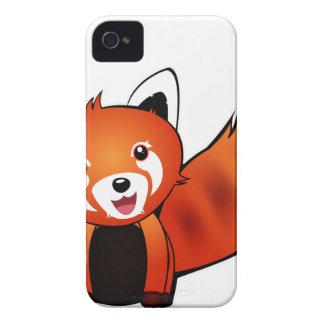 Roter Panda Case-Mate iPhone 4 Hüllen