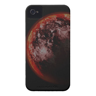 Roter Planet iPhone 4 Case-Mate Hüllen