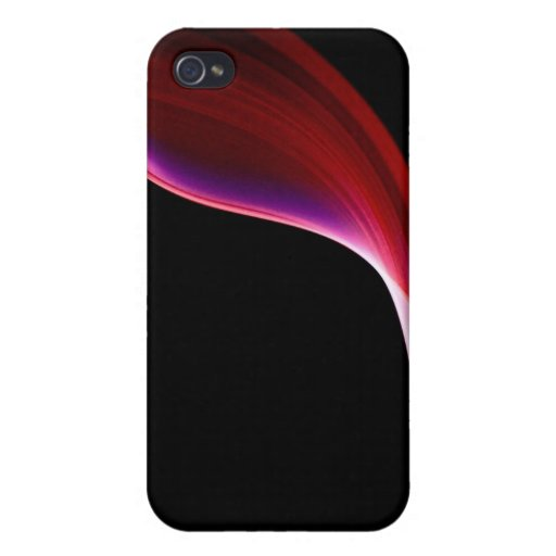 Roter Rauch iPhone 4 Case