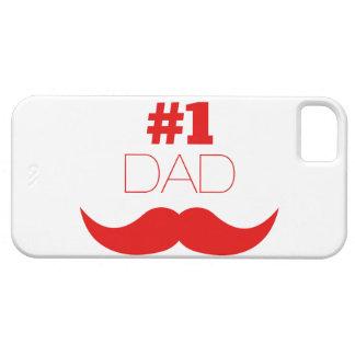 Roter Schnurrbart des Vati-#1 - Nr. eine iPhone 5 Cover