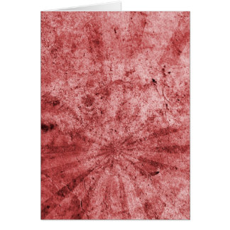 Roter Sonnendurchbruch-Schmutz Karte
