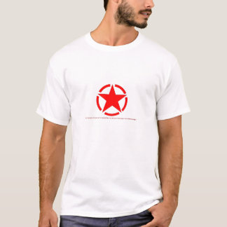 Roter Stern T-Shirt