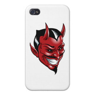 Roter Teufel iPhone 4/4S Case