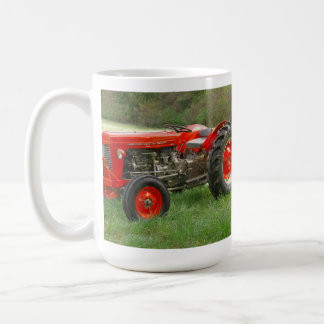 Roter Traktor Kaffeetasse