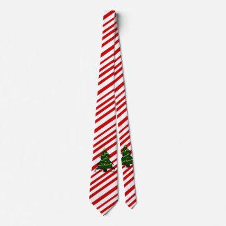 Roter weißer krawatten