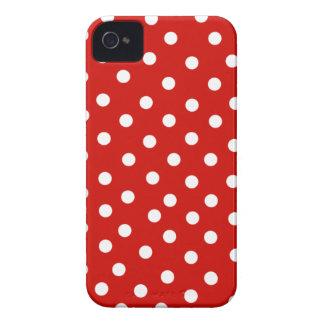 roter weißer Punkt iPhone 4 Hüllen