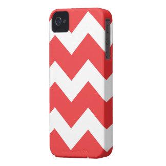 Roter Zickzack iPhone 4 Kasten iPhone 4 Case-Mate Hüllen