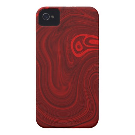 Rotes abstraktes iPhone 4 cover