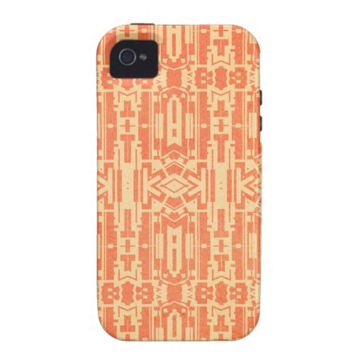 Rotes abstraktes Case-Mate iPhone 4 cover