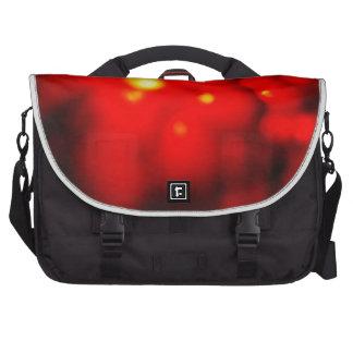 Rotes Blasen-Gelee (Jello) Laptop Taschen