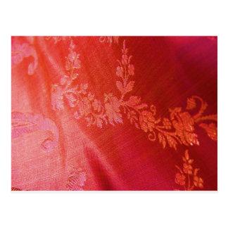 Rotes Blumen Postkarten