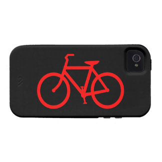 Rotes Fahrrad Vibe iPhone 4 Cover