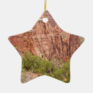 Rotes Felsen-Land Colorados Keramik Stern-Ornament