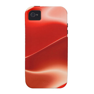 rotes Flammenmuster iPhone 4/4S Cover