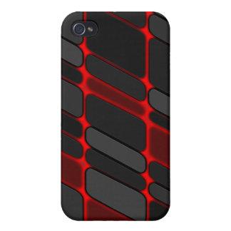 rotes Glühen iPhone 4 Hülle