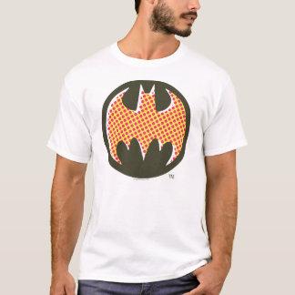 Rotes Halbtonlogo Batman-Symbol-| T-Shirt