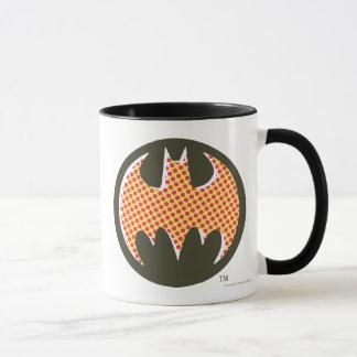 Rotes Halbtonlogo Batman-Symbol-| Tasse