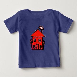 rotes Haus Baby T-shirt