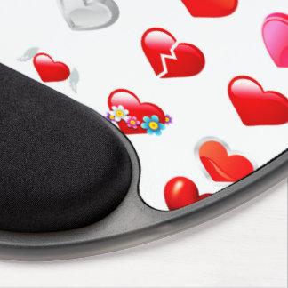 Rotes Herz Mousepad Gel Mouse Matten