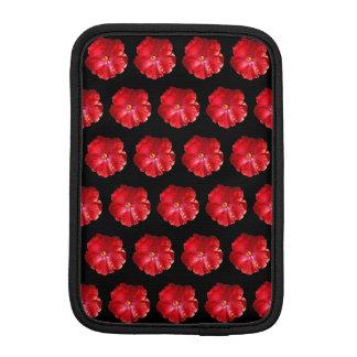 Rotes Hibiskus iPad Minihülse Sleeve Für iPad Mini