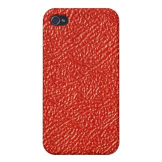 Rotes Leder… nicht iPhone 4/4S Hüllen