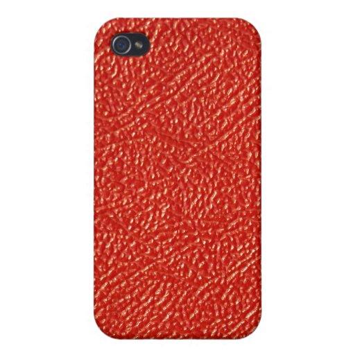 Rotes Leder… nicht iPhone 4 Etuis
