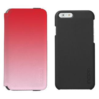 Rotes Ombre Incipio Watson™ iPhone 6 Geldbörsen Hülle