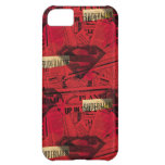 Rotes Schild-Muster Hülle Für iPhone 5C