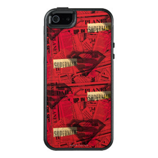 Rotes Schild-Muster OtterBox iPhone 5/5s/SE Hülle
