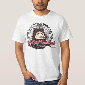 Rotes Schmutz-Syndikat T-Shirt