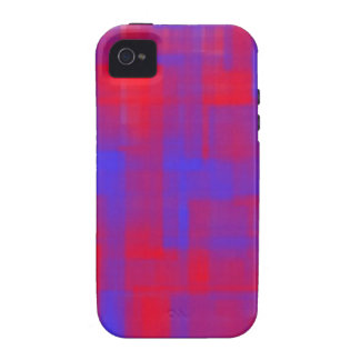 Rotes und blaues kundengerechtes iPhone 4 case
