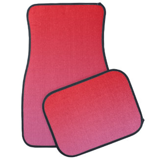 """""""Rotes und rosa Ombre"""" Automatte"""