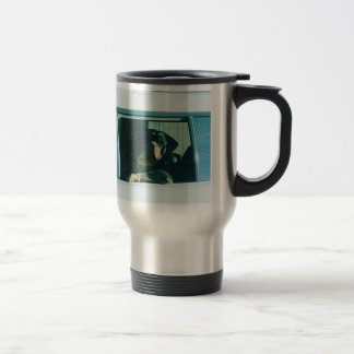 Rotties Regel-Reise-Tasse Reisebecher